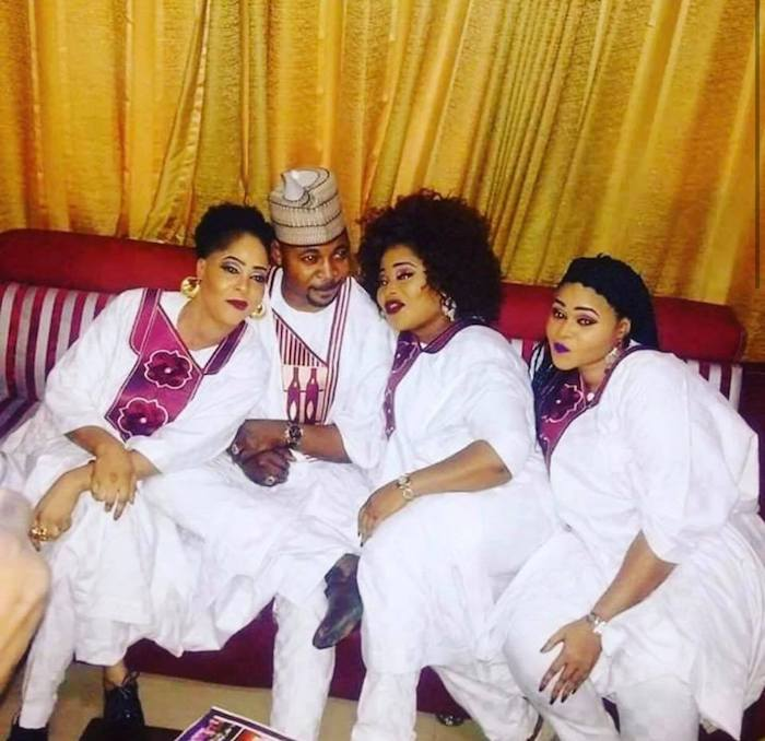 mc oluomo and 3 wives