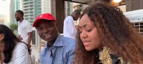 Ned Nwoko and Regina Daniels Dubai trip