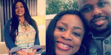 Sinach gives birth