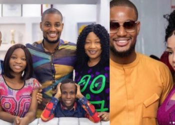 Alexx Ekubo shares photo of his parents and siblings