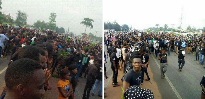 200 Level female student of UNIBEN killed by Army causes chaos in Benin (+Photos) 700x338 theinfong.com