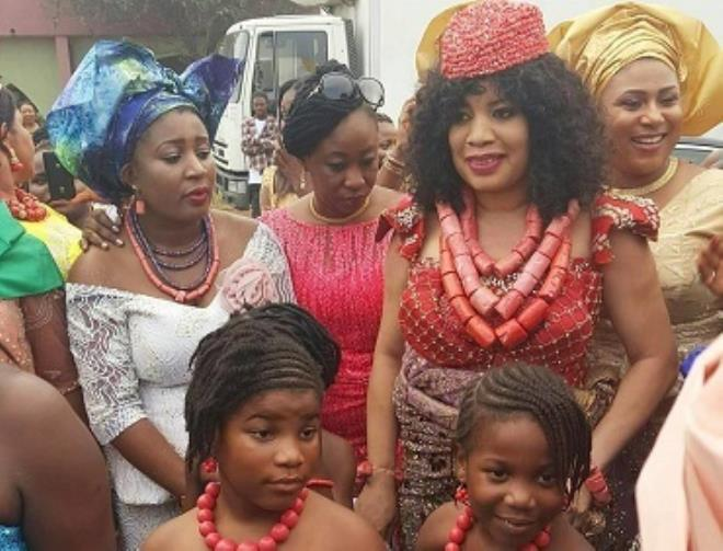 Photos from Monalisa Chinda's wedding yesterday theinfong.com