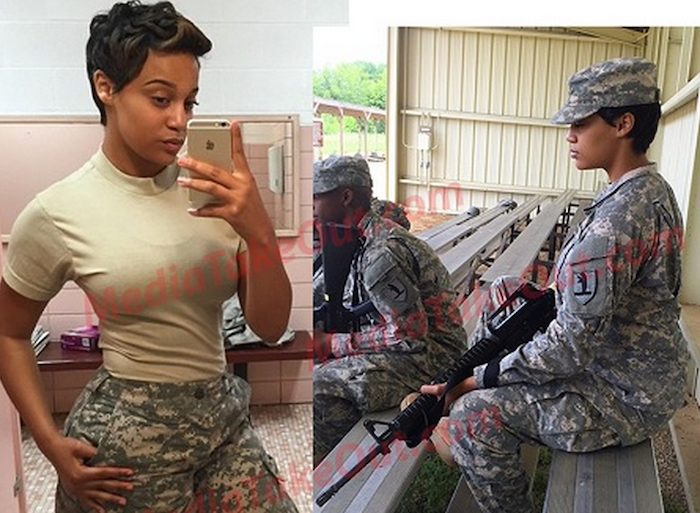 Meet the sexiest woman in the US army - Her beauty will stun you! (+Photos) 700x513 theinfong.com
