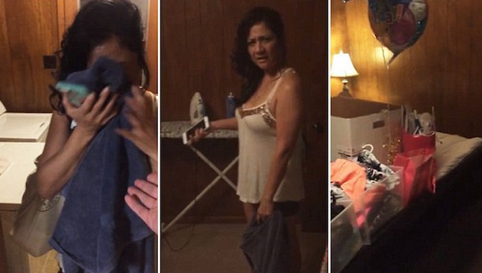 See how an angry boyfriend surprised his girlfriend for cheating on him (+Photos) 700x397 theinfong.com