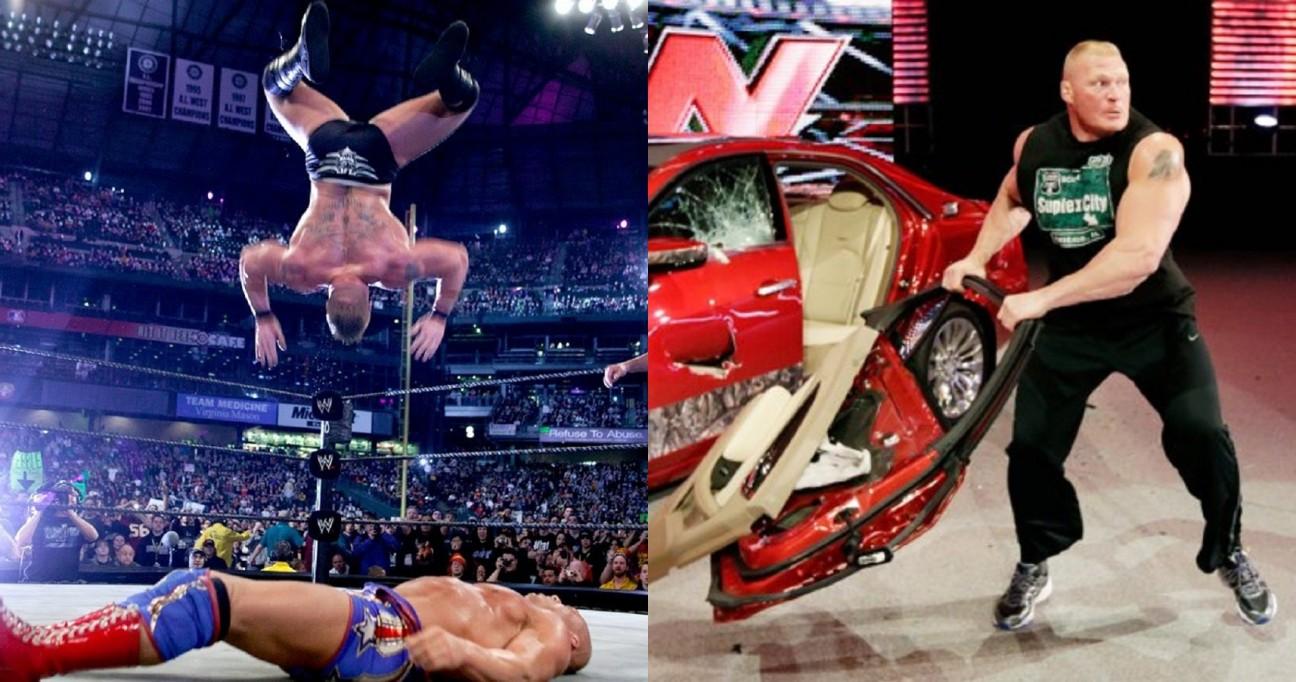 11 Brock Lesnar Moments Gone Wrong