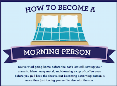 How to become a morning person theinfong.com