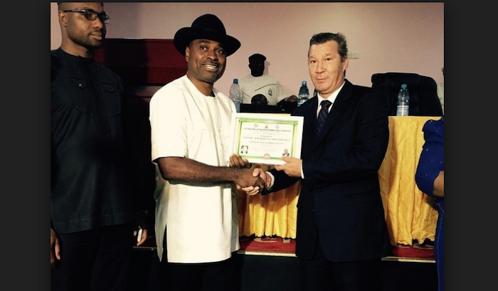 United Nations sign actor Kenneth Okonkwo as world peace ambassador theinfong.com 700x409