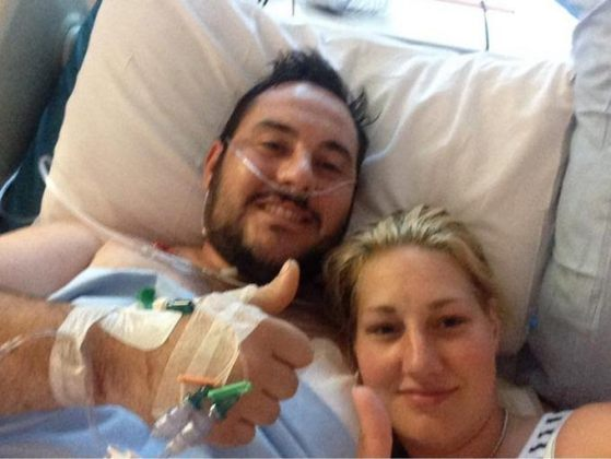 Man who took 3 bullets to save his fiancee theinfong.com