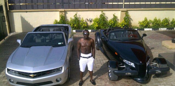 Nigerian celebrities and their luxury cars theinfong.com - 700x346