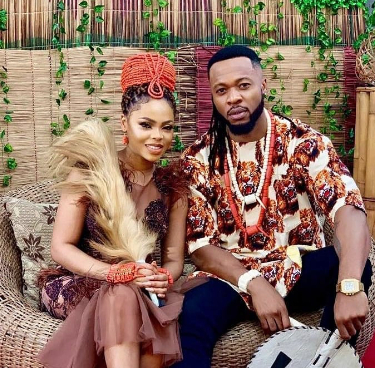 chidinma and flavour weds?