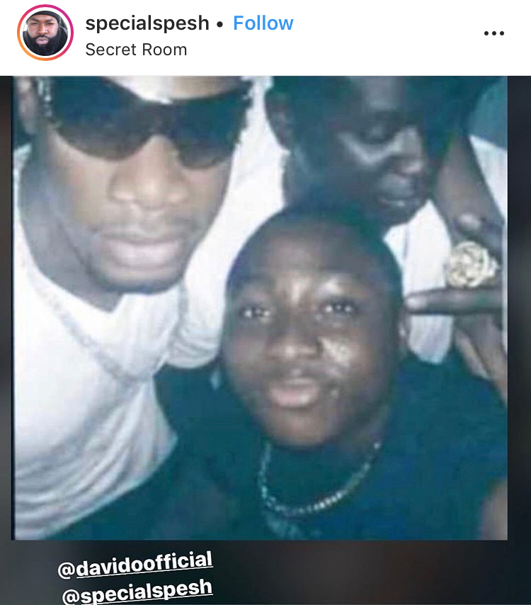 """He used to drink juice in those days"" - Special Spesh recounts how he started taking Davido to club at age 13"