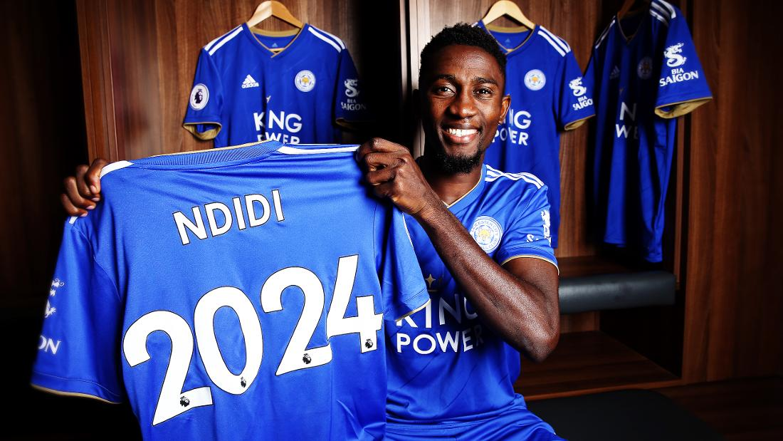 Wilfred Ndidi is Nigeria's highest paid player in Europe
