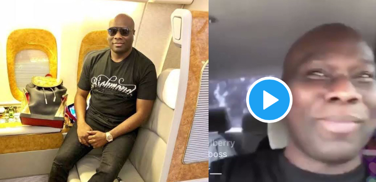 """""""I'm not a yahoo boy"""" – Mompha tells the world as he returns to his billionaire lifestyle (Video)"""