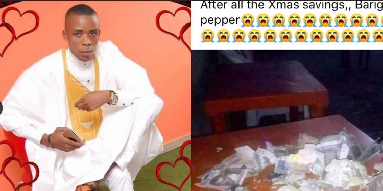 Man cries out after Lagos rats took extreme measures to ruin his Xmas plans