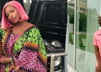 DJ Cuppy flaunts their luxurious family house in Ghana