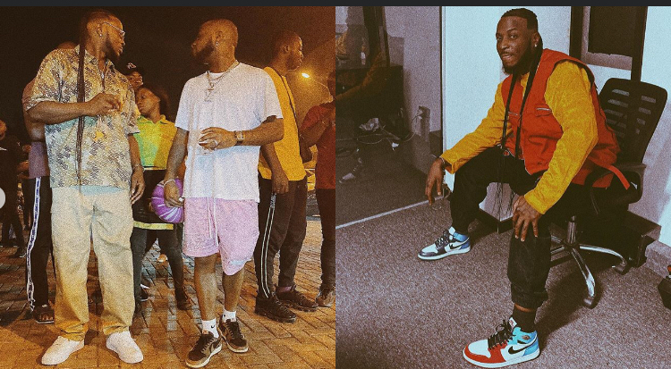 Peruzzi reacts after King Patrick accused Davido of attempting to poison him