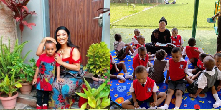 My son looked me in the face and told me he didn't like the dress I wore to his school – Tonto Dikeh | Theinfong