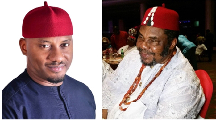 Nigerians express shock at Yul Edochie's bravery to tell father about leaving school