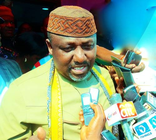Gov. Rochas Okorocha declares intentions for Presidency.