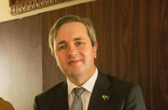 Australian High Commissioner to Nigeria, Mr Paul Lehmann
