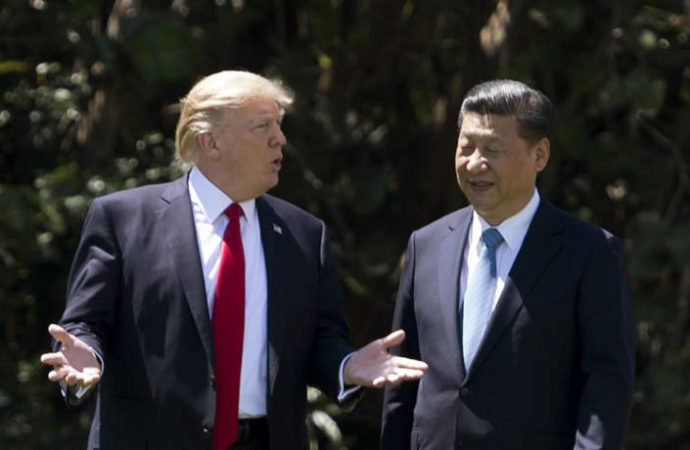 "Trump and Xi in ""constant touch"" as tensions rise"