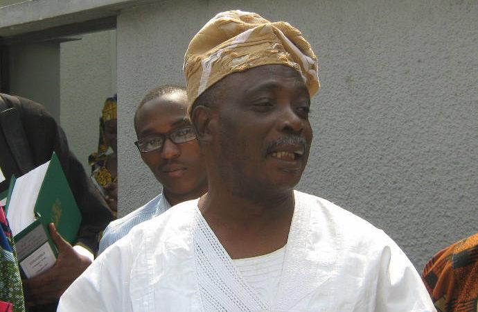 Former Governor Rashidi Ladoja of Oyo State