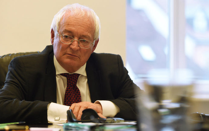 FIFA chief ethics judge Hans-Joachim Eckert