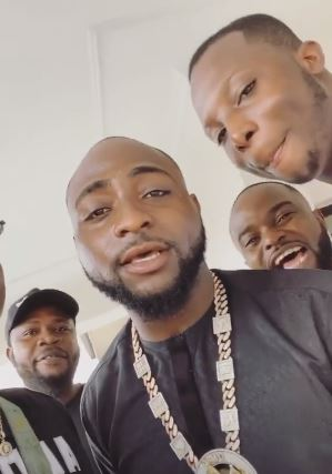 Wedding bells ringing: Davido sends his crew members packing from DMW mansion, buys them a new house (Photos)