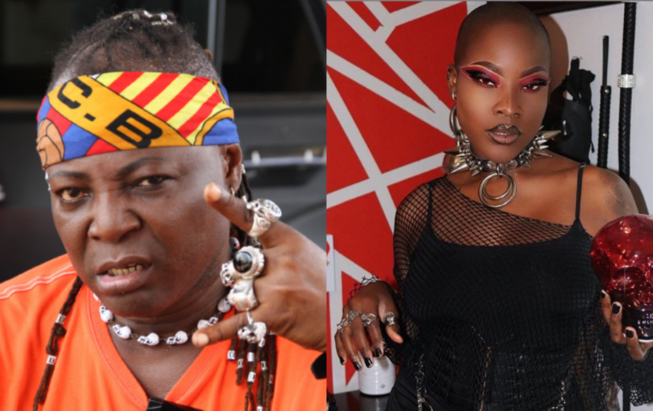 Charly boy and daughter dewy