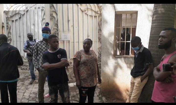 locked up nigerian employees