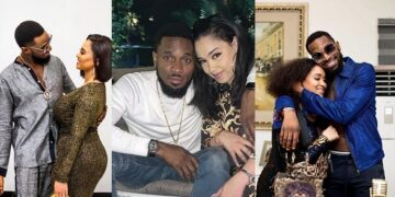 image of d'banj and wife