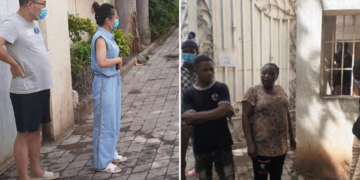 chinese couples and nigerian employees