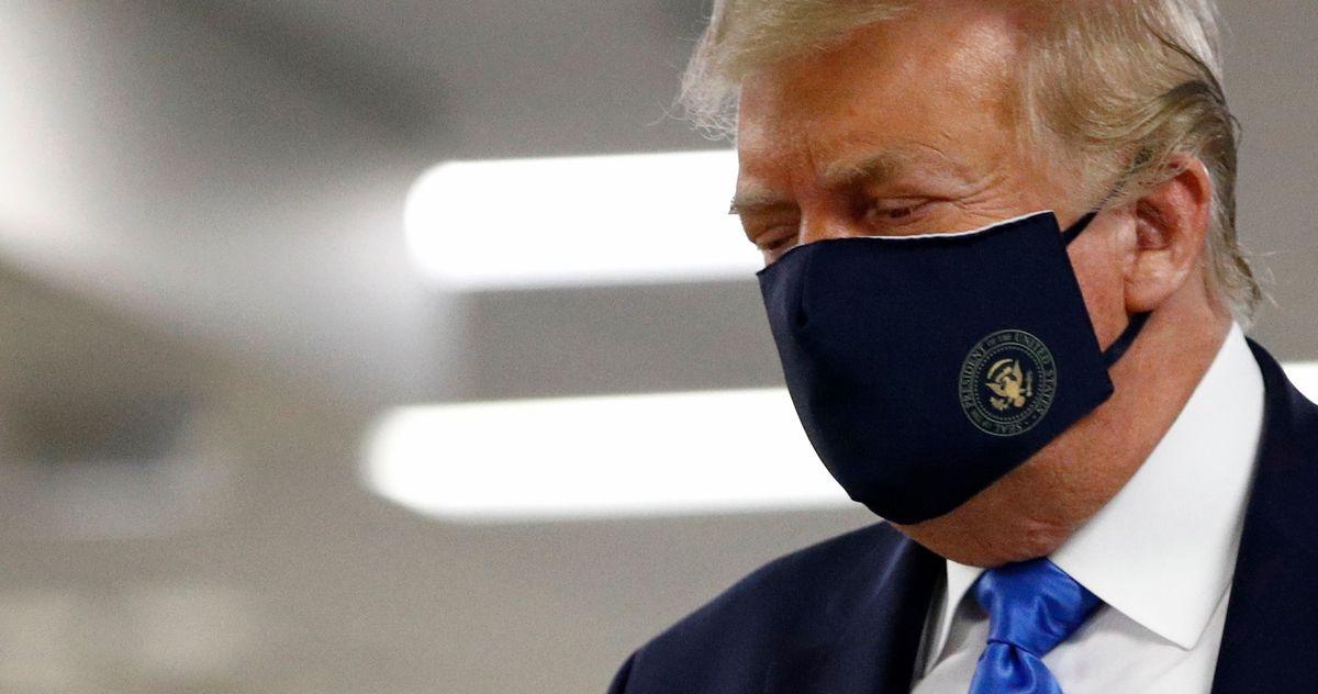donald trump facemask