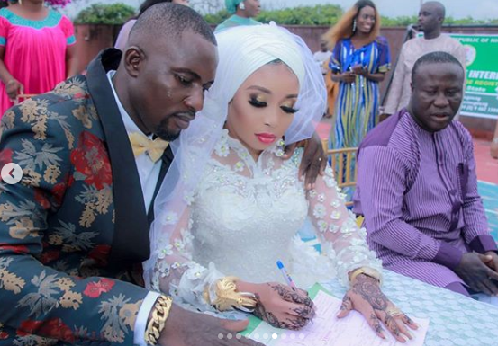 lizzy anjorin husband wedding
