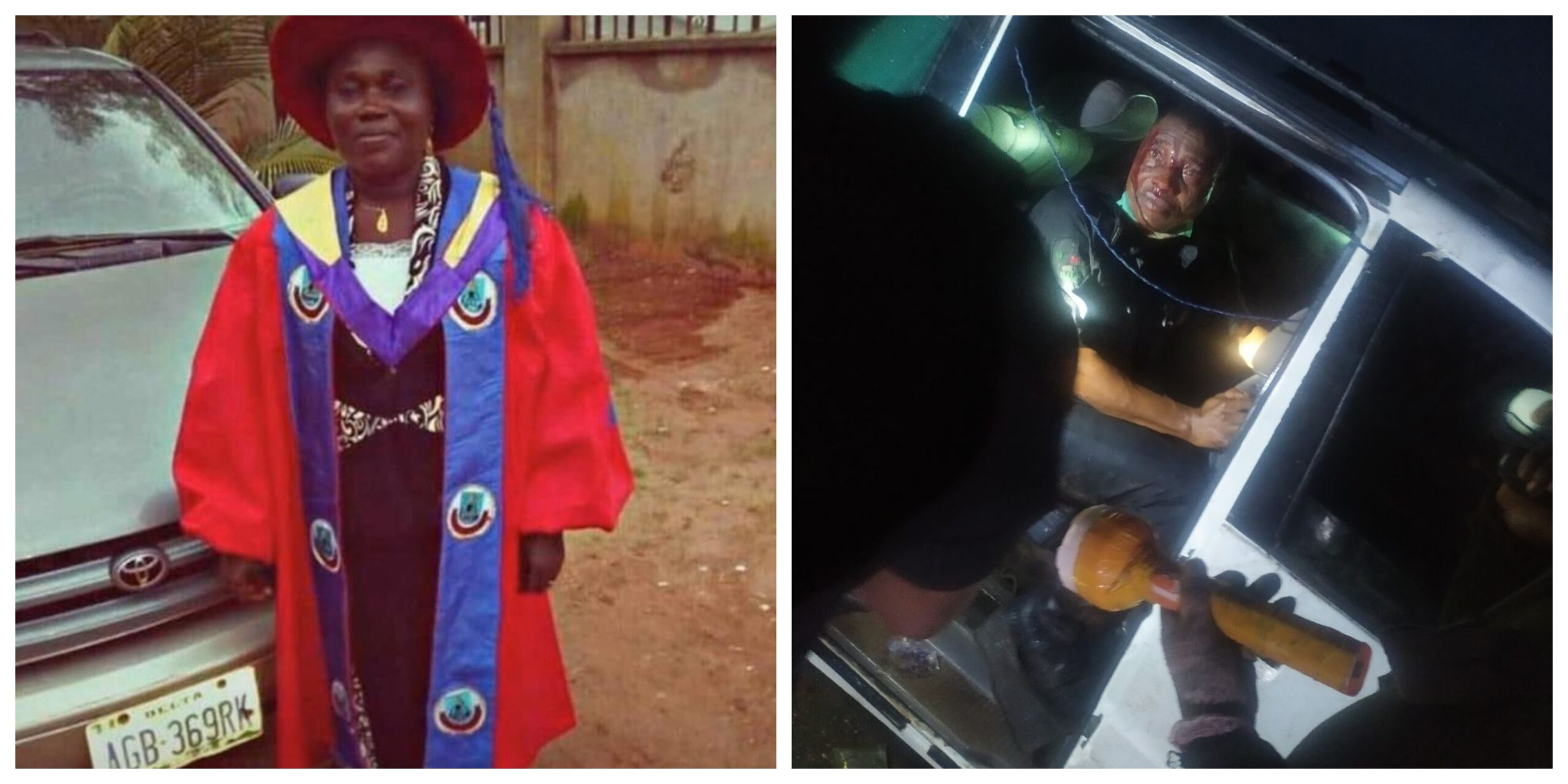 uniben staff stella-police chase driver for N100