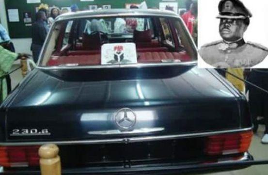 general murtala muhammed's car