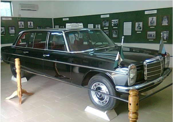 general muritala muhammed's- mercedesbenz-car