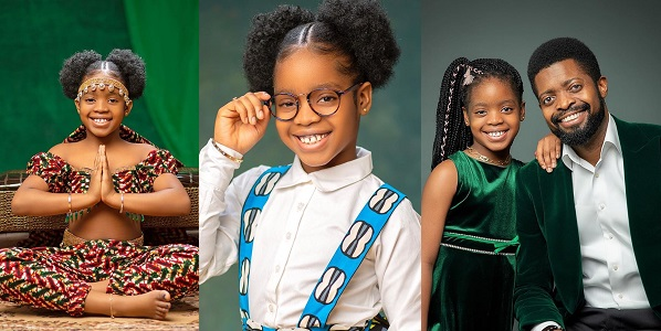 basketmouth-and-daughter