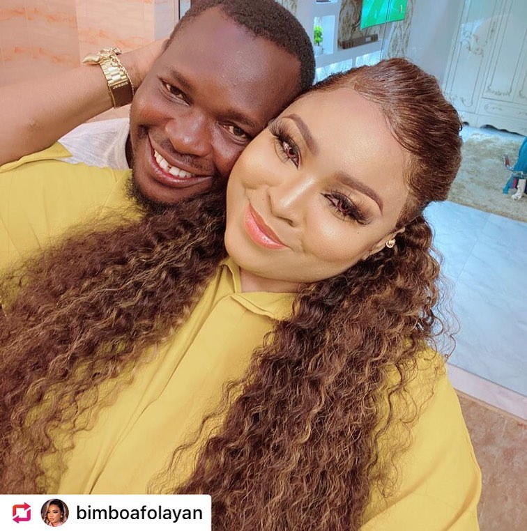 bimbo afolayan and husband