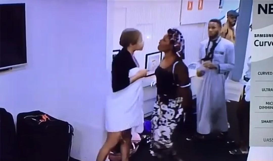 Nengi fights Erica