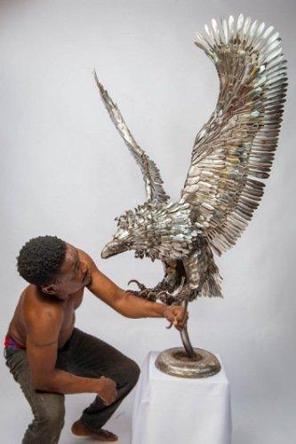 Abinoro Akporode Collins-sculptor