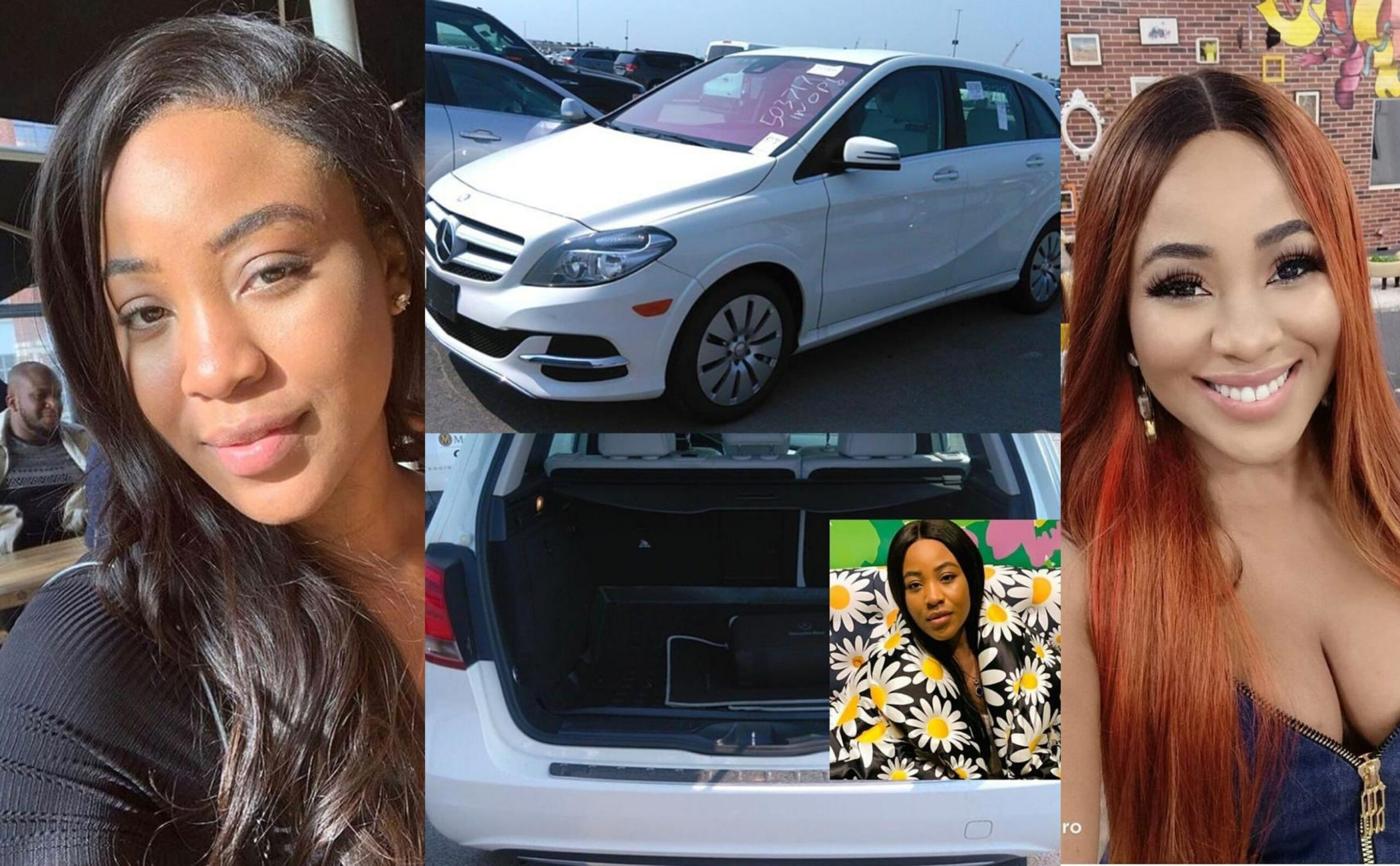 Erica Gets Brand New Mercedez Benz And A Cash Prize From Fans Few Moments After  She Was Disqualified From The Big Brother House