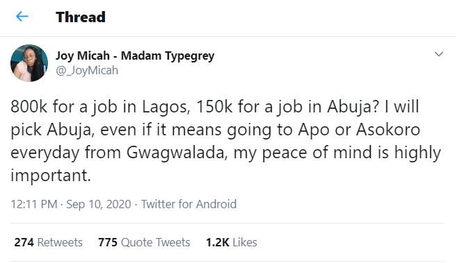 Joy Micah-twitter-job-post