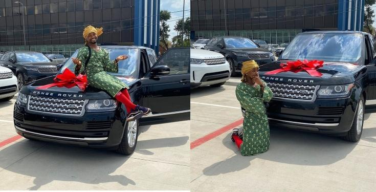 comedian-mama-tobi-range-rover
