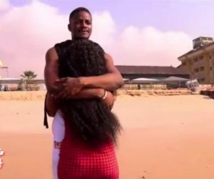Leo and Cee-c at the beach