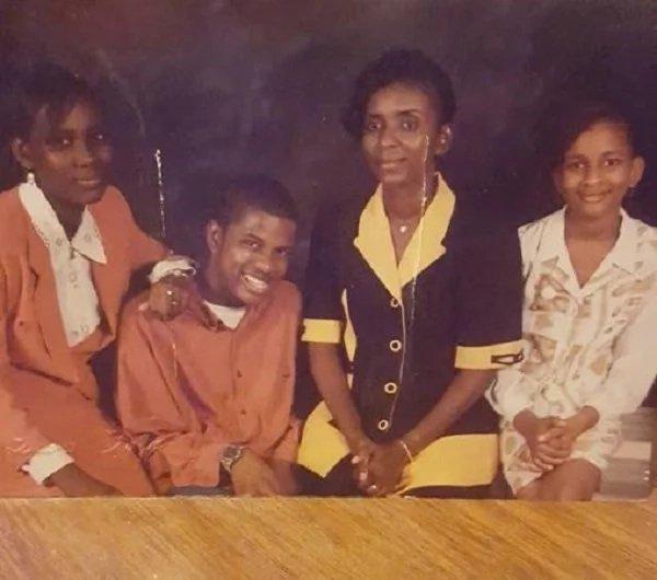 Adesua Etomi and Family