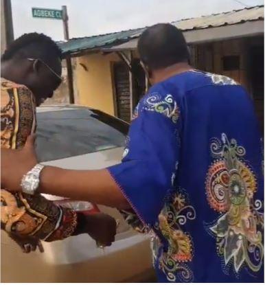 Comedian Akpororo Surprised Mr Oluwole