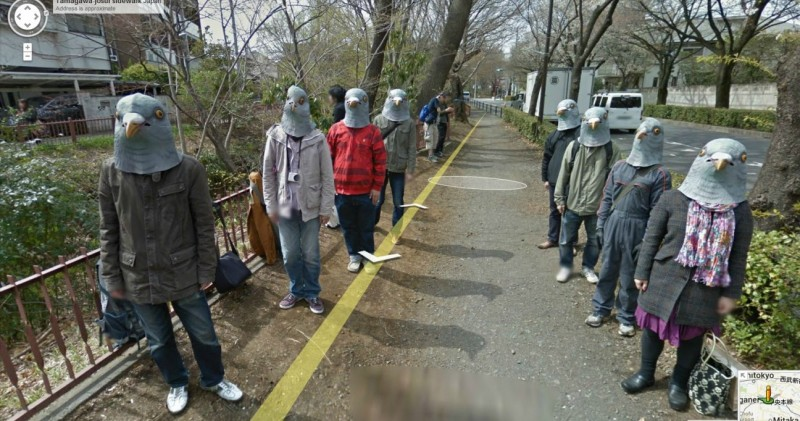 Top 10 strangest things seen on Google street view theinfong.com