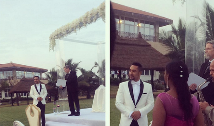 Majid Michel & wife renew marital vows (See Photos) 700x413 theinfong.com