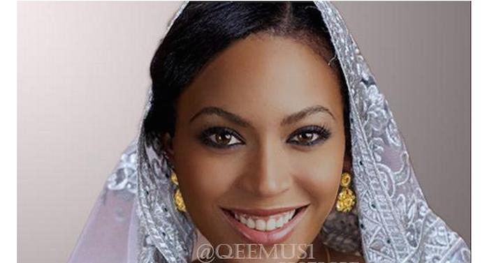 Wow!! See Beyonce, Rihanna, Kim Kardashian, Oprah Winfrey dressed up as Nigerian women (Photos) 700x377 theinfong.com